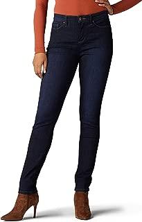 LEE Womens Sculpting Slim Fit Skinny Leg Jean Jeans - Blue - 4