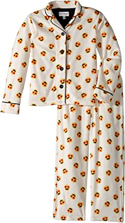 P.J. Salvage Kids - Emoji Playful Pajama Set (Big Kids)