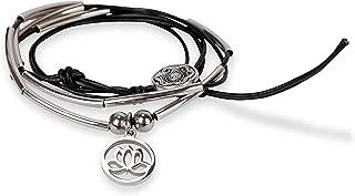 SPUNKYsoul Wrap Bracelets She Believed or Lotus for Women