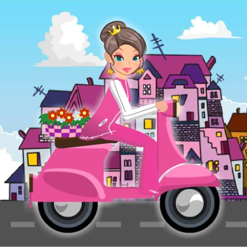 Traffic Princess Scooter Racer