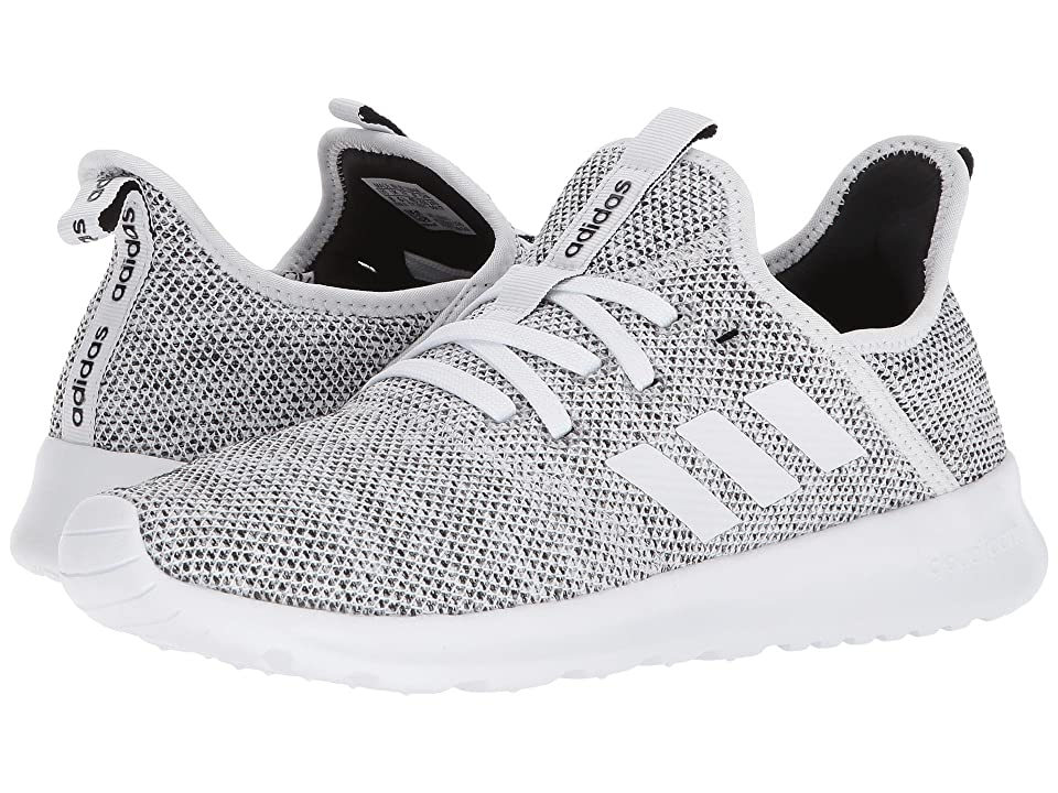 adidas Cloudfoam Pure (White/White/Black) Women's Shoes