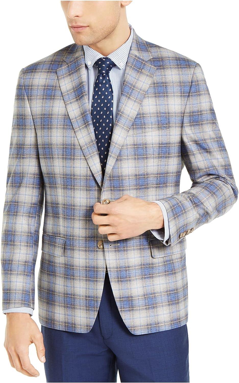 Lauren Ralph Lauren Mens Lexington Plaid Suit Separate Sportcoat