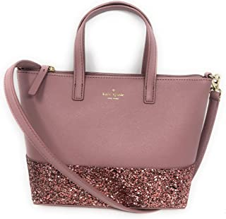 f3bf4685c556 Kate Spade New York Ina Greta Court Glitter Crossbody Bag Top Handle Handbag