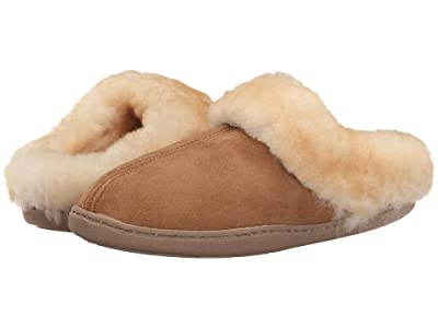 Minnetonka Sheepskin Mule (Golden Tan) Women