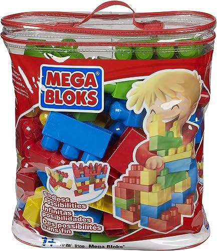 Mega Bloks 8309 - Maxi Bausteinbeutel, 70 - Teile