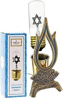 Flame Shaped Electric Memorial Lamp - Yahrzeit