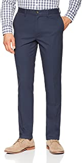 Men's Slim-Fit Wrinkle-Resistant Flat-Front Chino Pant