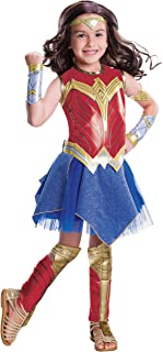 Rubie's Justice League Girl's Wonder Woman Deluxe Costume, X-Small