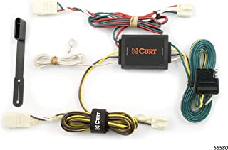 CURT 55580 Vehicle-Side Custom 4-Pin Trailer Wiring Harness for Select Toyota Sienna