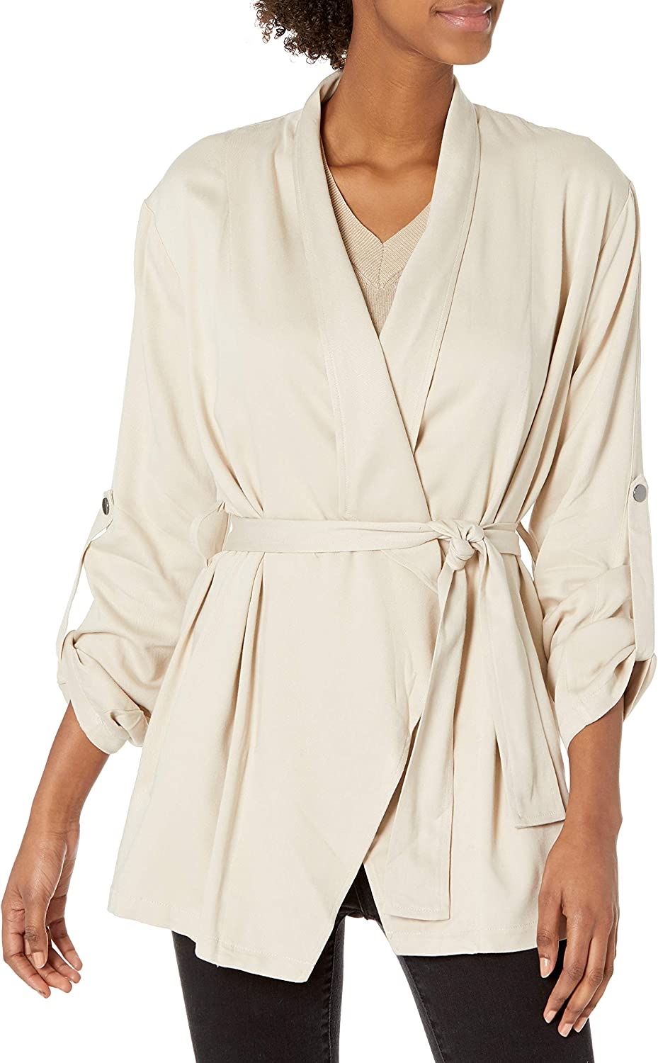 BB Dakota by Steve Madden womens Manufacturer direct delivery Out Ship Up Jacket Drape trend rank Or