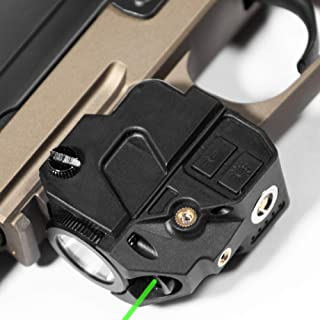 Firefly V2 Flashlight Laser Sight | Strobe Function | Combat Veteran Owned Company | Pistols | Rifles | 220 Lumens | Magnetic Charging | Laser Flashlight Combo For Handgun Pistol Hand Gun | Gun Light