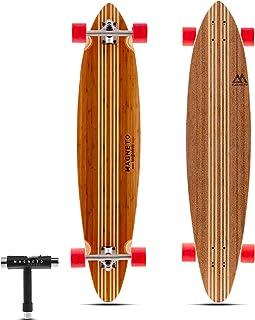Hana Longboard Collection | Longboard Skateboards | Bamboo with Hard Maple Core |..