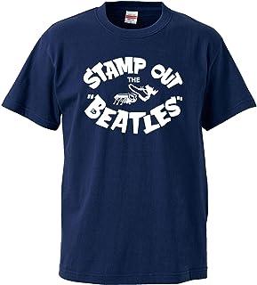 甲本ヒロト着用 Stamp Out The Beatles-スタンプアウトザビートルズ 5.6オンス Tシャツ(NVWH/ST-196)