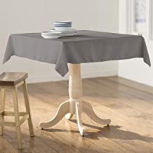 "LA Linen Square Tablecloth - 58 x 58"" Inch-Square Table Cloth for 36"" Table in Washable Polyester - Great for Intimate Din..."