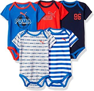 Baby Boys 5-Pack Bodysuit Set
