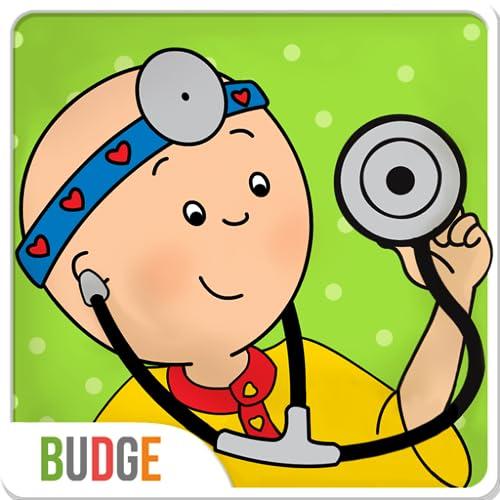 Caillou geht zum Arzt – Arztspiel