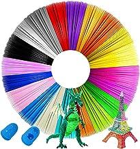 Sponsored Ad - 3D Pen Filament PLA,1.75mm PLA Filament Pack of 20 Colors,Each Color 16.4 Feet Total 328 Feet,No Smells Fil...