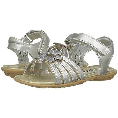 Jumping Jacks Kids Balleto Cynthia (Toddler/Little Kid/Big Kid) (Silver/Gold) Girls Shoes