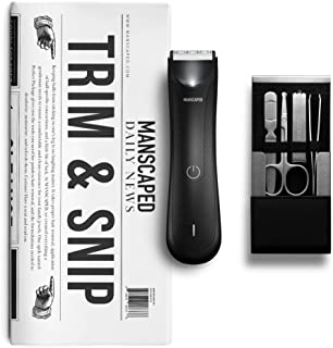 MANSCAPED Trim and Snip 3.0, Men's Grooming Kit, Includes...