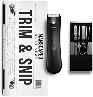 MANSCAPED™ Trim and Snip 3.0, Men's Grooming Kit, Includes The Lawn Mower™ 3.0 Ergonomically Designed Powerful Waterproof ...