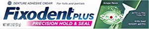 Fixodent Plus Scope Precision Hold & Seal Adhesive Cream, 2 oz