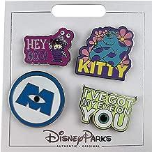Disney Pin - Monsters Inc - 4 pin set
