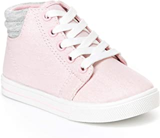 Simple Joys Carter's Toddler and Little Girls' (1-8 yrs) Cora Gliter High-Top Sneaker