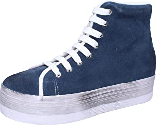 Jeffrey Campbell Trainers Womens Suede Blue