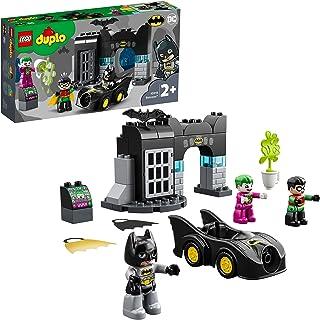 مجموعة تركيب دوبلو - مقر باتمان السري 10919 للاطفال لمرحلة الحضانة من سن سنتين فما فوق من ليغو (33 قطعة)