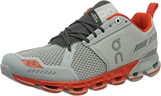ON Men's Cloudflyer Running Shoes, Glacier/Spice