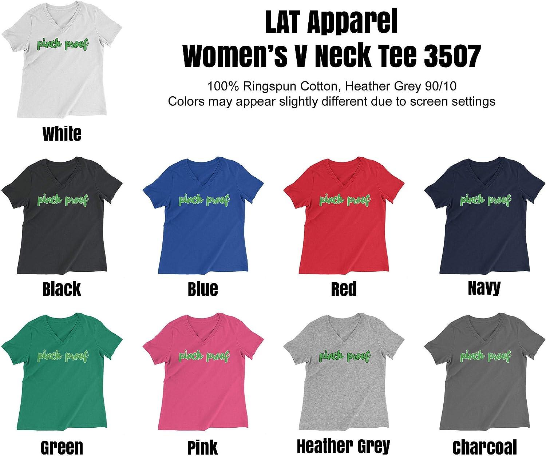 HARD EDGE DESIGN Women's Green Pinch Proof T-Shirt