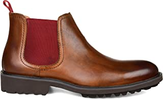 Thomas & Vine Mens Maddox Genuine Leather Chelsea Boot Brown, 8.5 Regular US