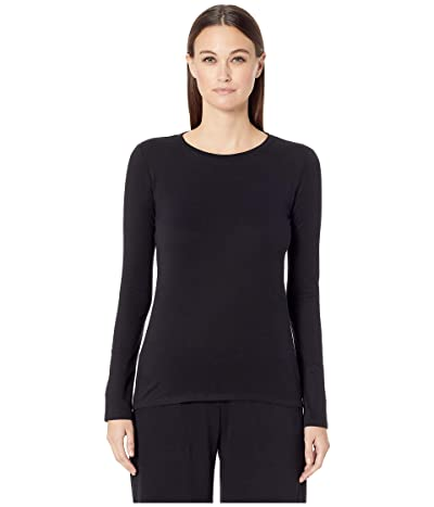 Skin Natural Skin Jael Organic Cotton Long Sleeve Tee (Black) Women