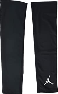 NIKE Jordan Basketball Arm Shooter Sleeve (Black/White, S/M)