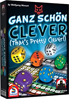 Stronghold Games Ganz Schon Clever That's Pretty Clever Board Game