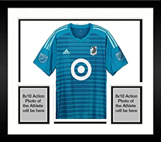 f58703ef6 Framed Bobby Shuttleworth Minnesota United FC Autographed Match-Used Blue   33 Jersey vs.