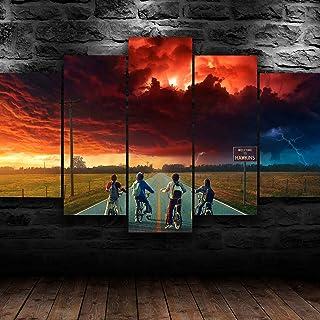 Gtart Impression sur Toile Tableau Moderne XXL Multi Panneau 5 Parties Tableau Decoration Murale Salon Chambre Cadre Affic...