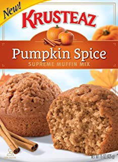 Pumpkin Spice Supreme Muffin Mix, 15oz, Pack of 2.