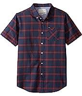 Rip Curl Kids - Wilton Short Sleeve Shirt (Big Kids)
