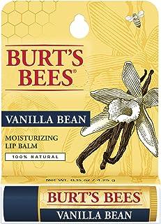 Burt's Bees Vanilla Bean Moisturizing Lip Balm Blister for Unisex, 0.15 Ounce