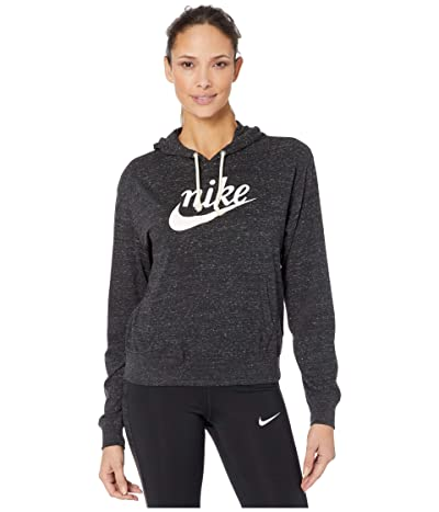 Nike NSW Gym Vintage Hoodie HBR (Black/Sail) Women