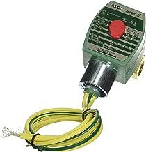 120V//60 Hz 1//4 Pipe Size ASCO Valve Inc 3 Way Universal 110V//50 Hz 3//32 Orifice.12 CV Flow 100 PSI Maximum Operating Pressure 1//4 Pipe Size ASCO EF8320G174 Brass Body Direct Acting Solenoid Valve Nitrile Butylene Sealing 20728