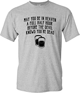 May You Be in Heaven - Shelby Company Birmingham England Drinking T Shirt