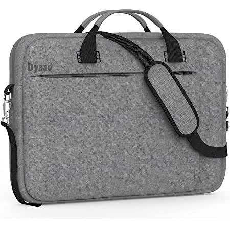"""Dyazo Slim Water Resistant Laptop Bag/Briefcase Compatible for Lenovo, Dell, Aser, HP, Ultrabook,11.6"""" 