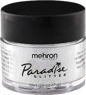 Mehron Makeup Paradise AQ Glitter (.25 oz) (White)