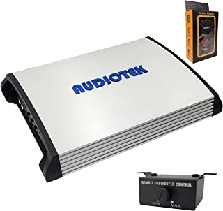 $99 » Audiotek AT3500S 2 Channel Stereo Car Amplifier - 3500 Watts, 2 Ohm Stable, LED Indicator, Full Range, Bass Knob Included,...