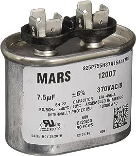 MARS - Motors & Armatures 12007 7.5 MFD Round Run Capacitor (370V)