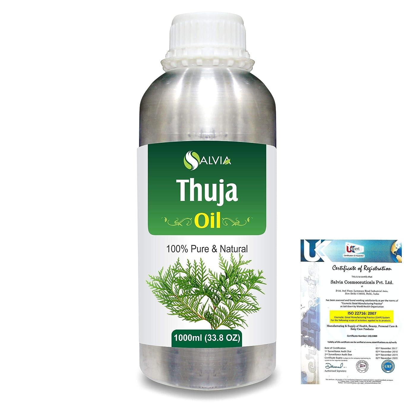 リードハウジング狂ったThuja (Thuja Orientali) 100% Pure Natural Essential Oil 1000ml/33.8fl.oz.