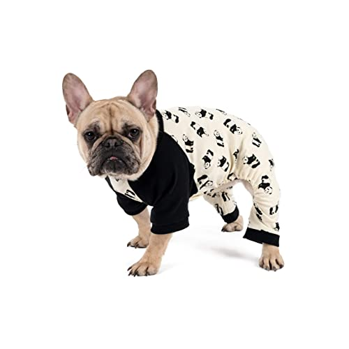 b57082c917 Leveret Dog Pajamas Matching Christmas Pjs for Dogs 100% Cotton (Size  X-Small