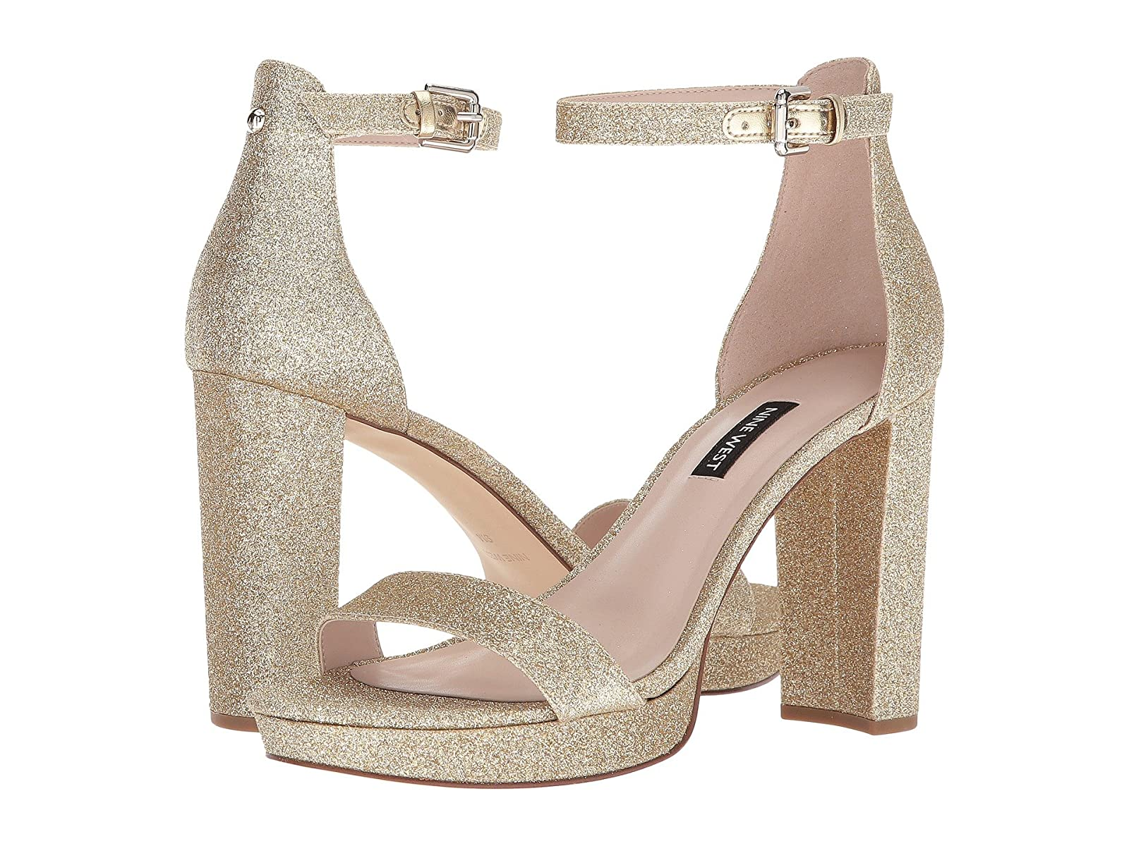 Nine Sandal West Dempsey Platform Heel Sandal Nine :Sale Price:Gentleman/Lady 6ea247